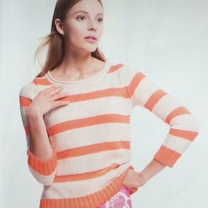 Sweaters - Summer sweater with stripes